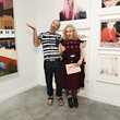Maripol Roger Gastman And LL COOL J Host BEYOND THE STREETS Opening Night At 25 Kent