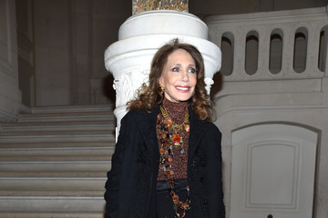 Marisa Berenson Valentino : Front Row - Paris Fashion Week - Haute Couture Spring Summer 2017