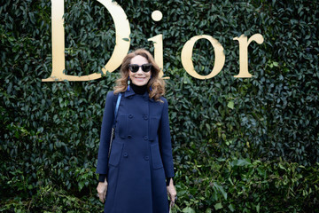 Marisa Berenson Christian Dior : Outside Arrivals - Paris Fashion Week - Haute Couture Spring Summer 2017