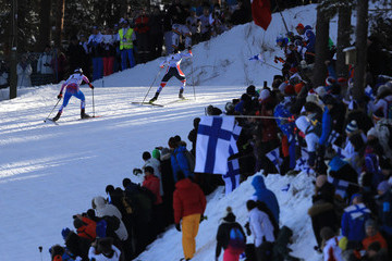 Marit Bjoergen Men's and Women's Cross Country Skiathlon - FIS Nordic World Ski Championships