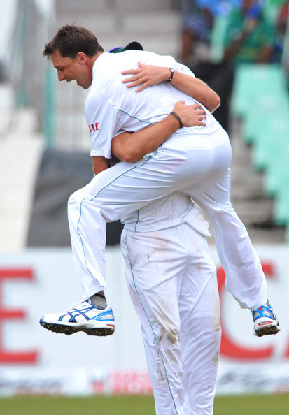 Second Test - South Africa v India: Day One