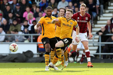 Mark Byrne Northampton Town v Newport County - Sky Bet League Two