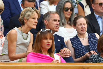 Mark Carney Day Eleven: The Championships - Wimbledon 2018
