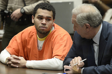 Mark Geragos Chris Brown's Court Appearance