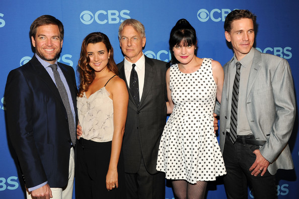 Celebs Attend the CBS Upfront Event in NYC