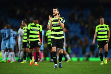 Mark Hudson Manchester City v Huddersfield Town - The Emirates FA Cup Fifth Round Replay