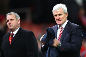 Mark Hughes Stoke City v Watford - Premier League
