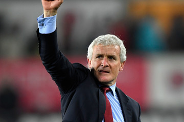 Mark Hughes Swansea City Vs. Southampton - Premier League