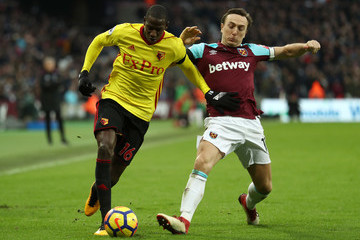 Mark Noble West Ham United v Watford - Premier League