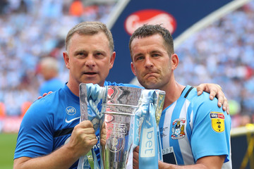 Mark Robins Coventry City Vs. Exeter City - Sky Bet League Two Play Off Final