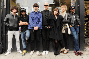 Kyle Falconer Mark Ronson And The Business Intl In-Store Appearance