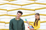 Today, musician and producer, Mark Ronson and The LEGO Group launch Rebuild The World, a campaign to help nurture the creative skills of the next generation on September 17, 2019 in Billund, Denmark.