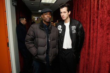 Mark Ronson Chris Rock Drops by 'Sway in the Morning'