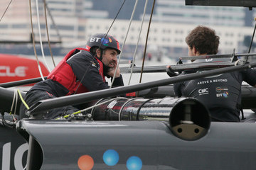 Mark Ruffalo Louis Vuitton America's Cup World Series Racing - Day 1