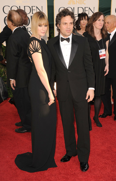 Mark Ruffalo Actor Mark Ruffalo (R) and Sunrise Coigney arrive at the 68th Annual Golden Globe Awards held at The Beverly Hilton hotel on January 16, 2011 in Beverly Hills, California.
