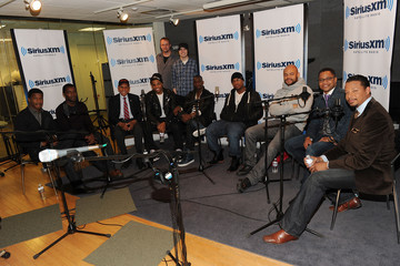 "Mark Seman The Cast Of ""Red Tails"" Visits SiriusXM"