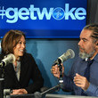 Mark Thompson Sen. Kamala Harris Speaks With Host Mark Thompson At SiriusXM's New York Studios
