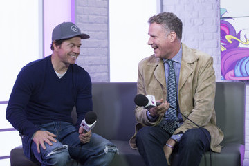 Mark Wahlberg Will Ferrell and Mark Wahlberg Visit KISS FM