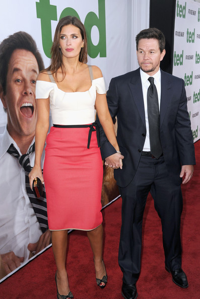 Mark Wahlberg Rhea Durham Mark Wahlberg And Rhea Durham