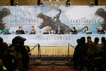Mark Wahlberg 'Transformers: Age of Extinction' Press Conference