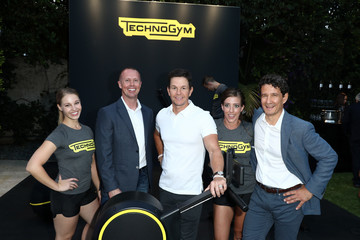 Mark Wahlberg Rolls Royce X Technogym At The Home Of Gunnar Peterson