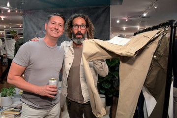 Mark Walker Outerknown Celebrates The Launch of S.E.A. JEANS At Ron Herman