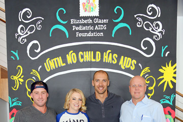 Mark Wilkerson Elizabeth Glaser Pediatric AIDS Foundation 26th Annual A Time for Heroes Family Festival - Inside