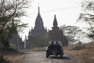 Mark Wilkinson Singapore to Myanmar 25-Day Car Rally