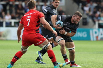 Mark Wilson Newcastle Falcons vs. Saracens - Gallagher Premiership Rugby