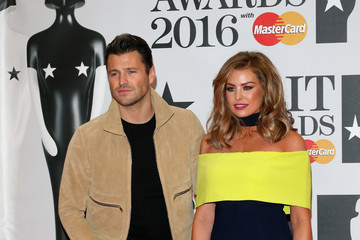 Mark Wright Jessica Wright Brit Awards 2016 - Red Carpet Arrivals