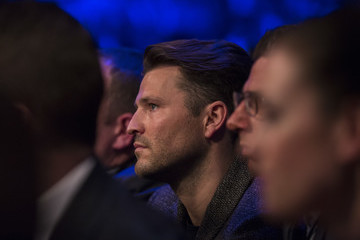 Mark Wright Celebrities Attend the David Haye Vs. Tony Bellew Fight