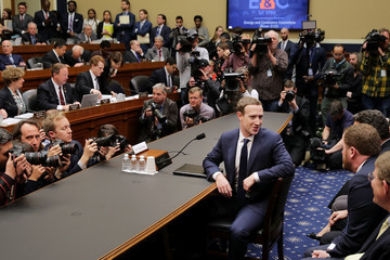Mark Zuckerberg Facebook CEO Mark Zuckerberg Testifies At House Hearing