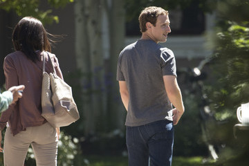 Mark Zuckerberg Annual Allan And Co. Investors Meeting Draws CEO's And Business Leaders To Sun Valley, Idaho