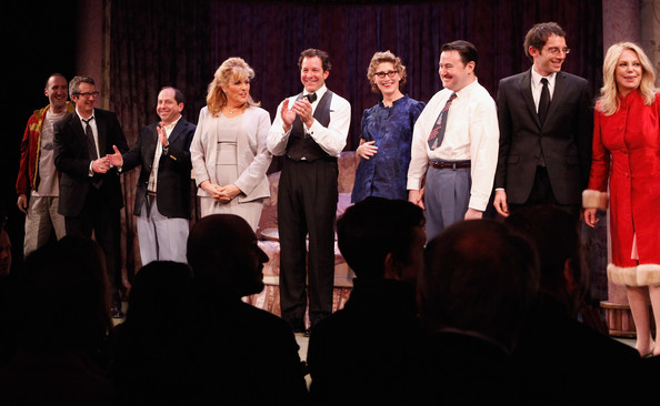 """""""Relatively Speaking"""" Broadway Opening Night - Arrivals & Curtain Call"""
