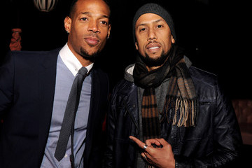 """Marlon Wayans Affion Crockett Premiere Of Open Road Films' """"A Haunted House"""" - After Party"""