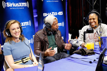 Marlon Wayans SiriusXM at Super Bowl XLVIII Radio Row