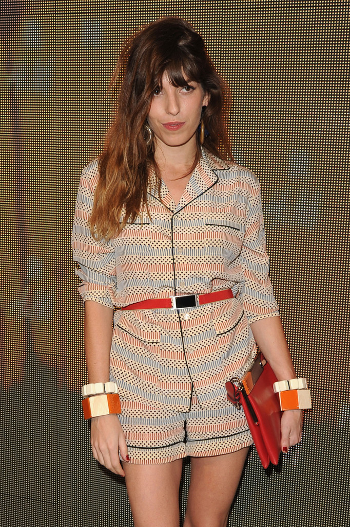 Lou Doillon Street: Marni At H&M Collection Launch