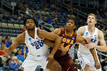 Marques Bolden NCAA Basketball Tournament - First Round - Pittsburgh