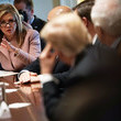 Marsha Blackburn President Trump Holds Meeting With Bipartisan Congress Members To Discuss School Safety
