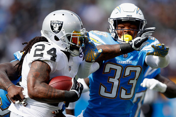 Marshawn Lynch Oakland Raiders vs. Los Angeles Chargers