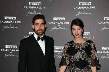 Marta Ferri Carlo Borromeo Arrivals at the Pirelli Calendar Event