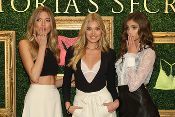 Martha Hunt Taylor Hill Victoria's Secret Hosts Live Global Media Event to Reveal Bralette Collection & Launch Multi-City Tour