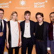 Martha Hunt Montblanc Celebrates The Launch Of MB 01 Headphones & Summit 2+ With NYC Event