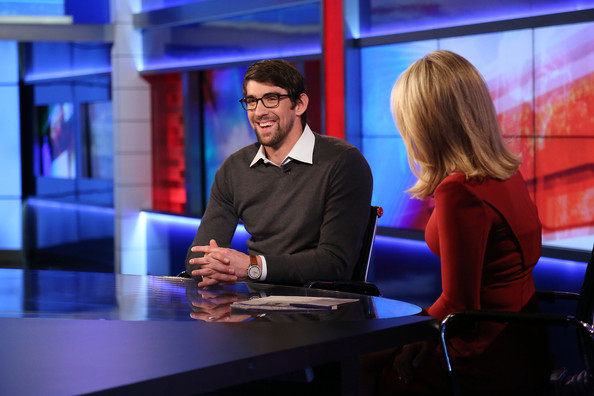 Martha MacCallum Michael Phelps is interviewed by FOX news anchor