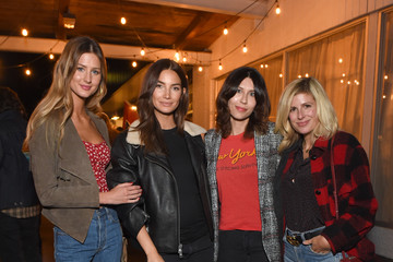 Martha Patterson Lily Aldridge And Levi's Made And Crafted Celebrate Denim In Nashville