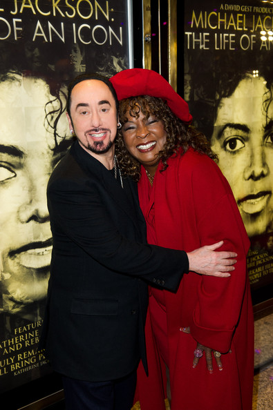 Martha Reeves This image has been retouched) David Gest and Martha Reeves attend the world premiere of 'Michael Jackson: The Life Of An Icon' at The Empire Cinema on November 2, 2011 in London, England.