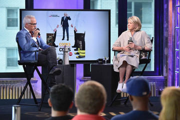 Martha Stewart AOL Build Speaker Series - Geoffrey Zakarian Discusses Career And New Projects With Martha Stewart