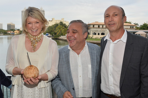 Martha Stewart Celebrates South Beach Wine And Food Festival With DuJour Magazine's Jason Binn And Lee Brian Schrager At The Ritz-Carlton Miami Beach Residences