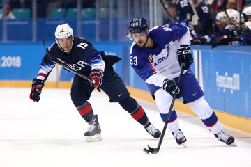 Martin Bakos Ice Hockey - Winter Olympics Day 7