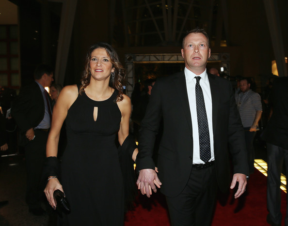Martin Brodeur And Genevieve Nault Photos Photos Hockey Hall Of